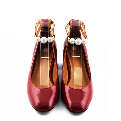 Peggy 珍珠踝帶跟鞋