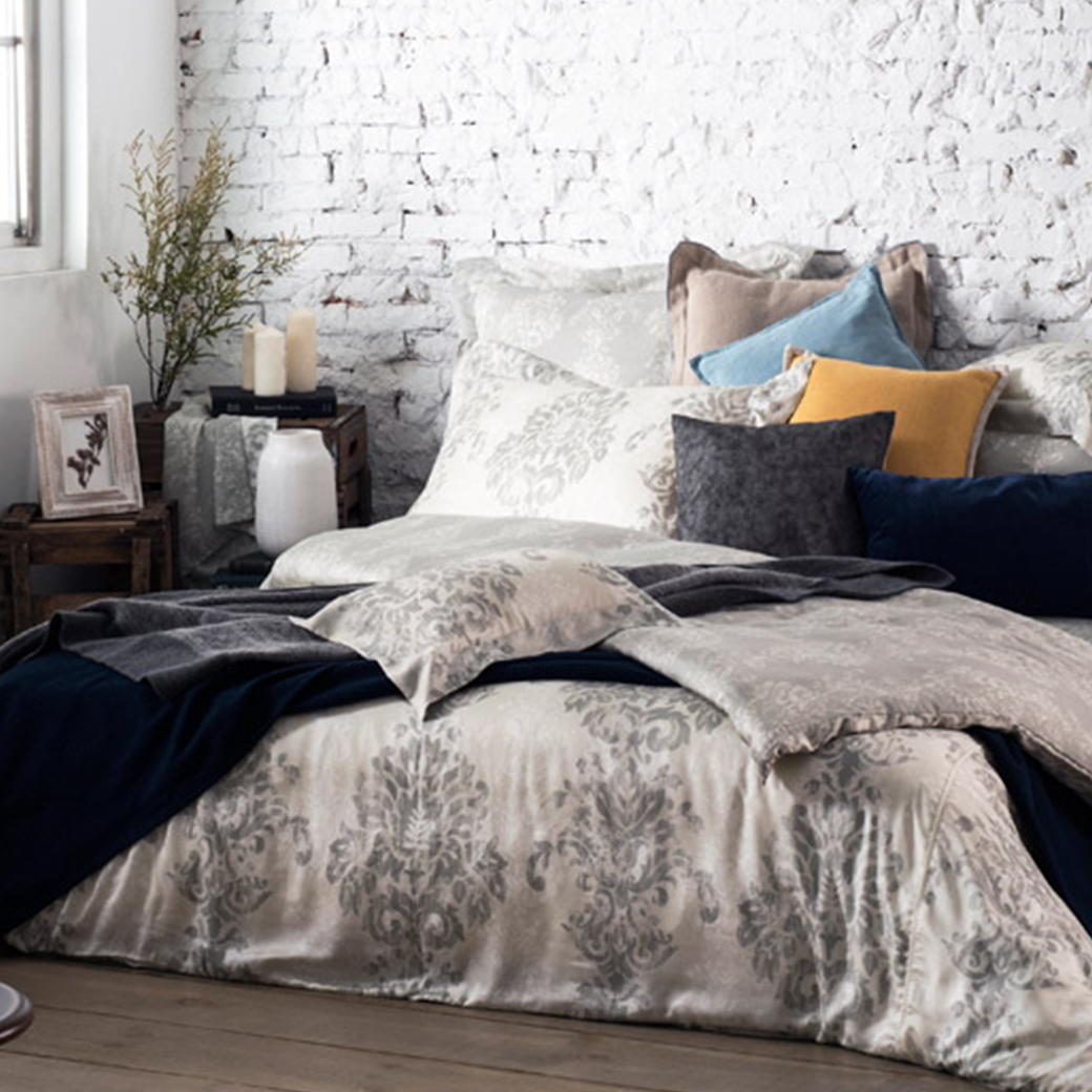 BBL Premium【莫斯】100%萊賽爾纖維(天絲™)印花雙人床包組