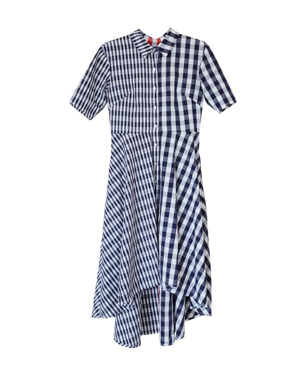 Audrey Gingham Dress