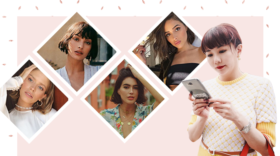 5 best short hairstyle ideas from Instagram