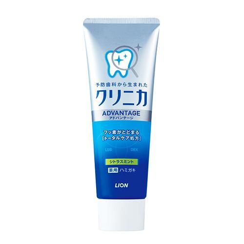 日本獅王固齒佳酵素淨護牙膏(柑橘薄荷)