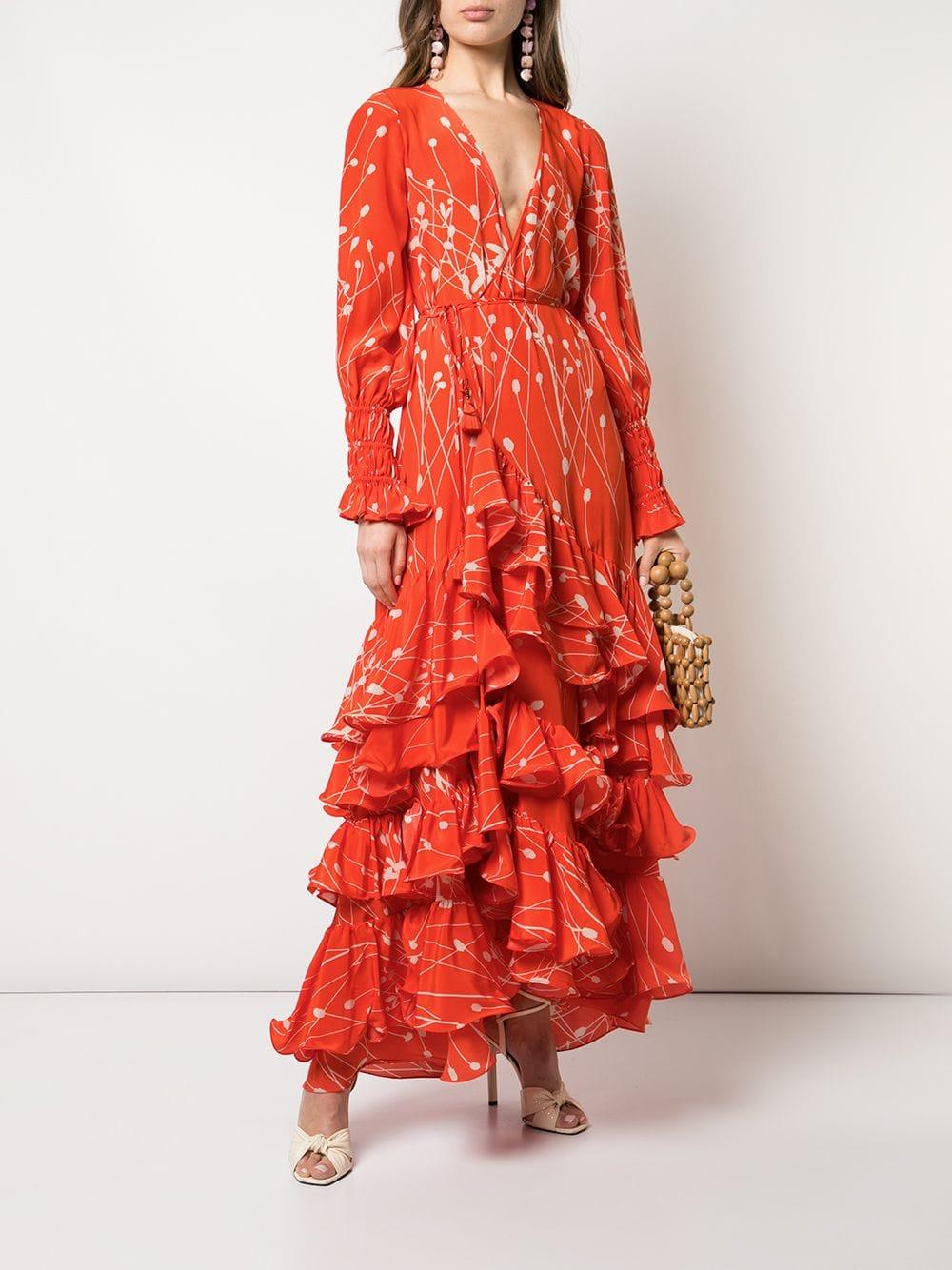 一件就很亮眼的荷葉洋裝