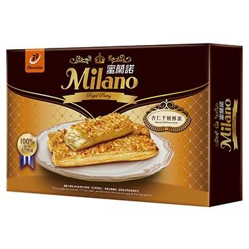 蜜蘭諾頂級系列:杏仁千層酥派