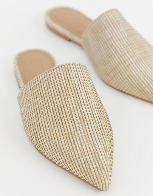 夏日時髦低跟涼鞋