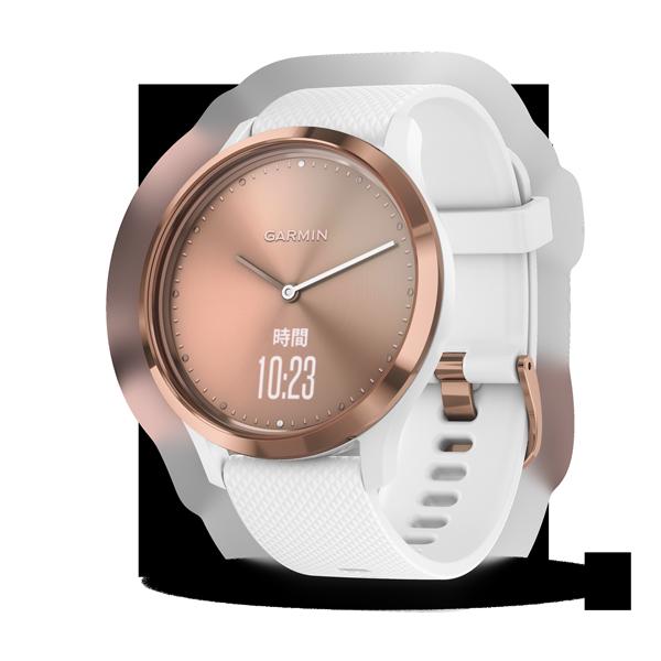 GARMIN:vívomove™ HR智慧型手錶(玫瑰金)