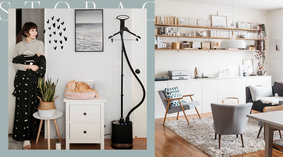 6 easy ways to makeover small space storage