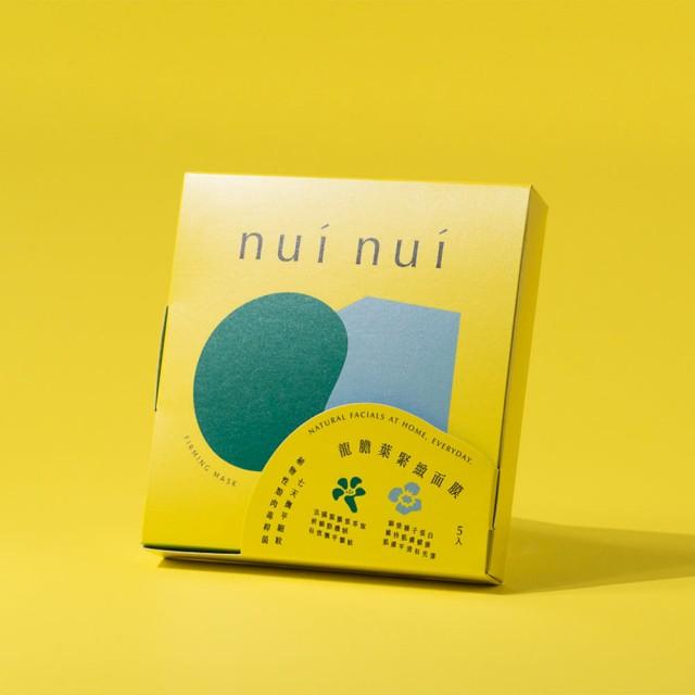 nui nui面膜:龍膽葉緊緻面膜