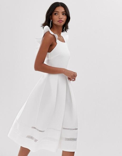 夏日必備白洋裝
