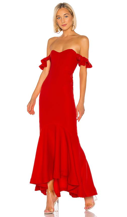 度假約會紅洋裝