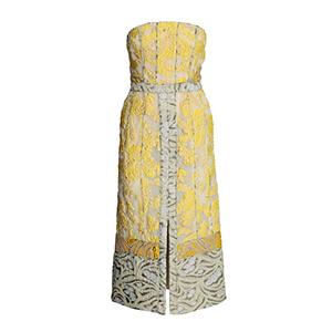 環保時髦的H&M Conscious系列緹花洋裝