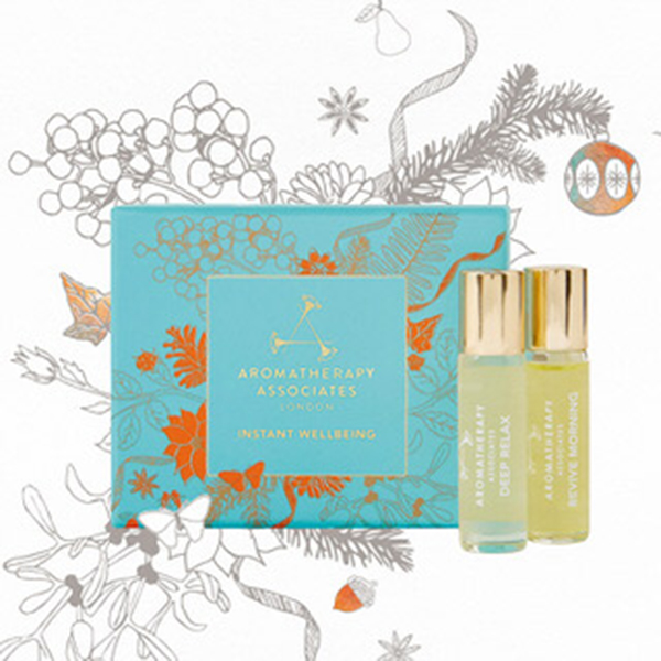 Aromatherapy Associates  日夜舒壓隨身滾珠香氛禮盒