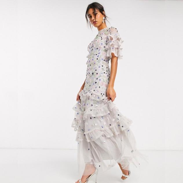 最近想買:浪漫層次感洋裝