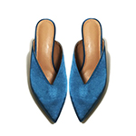 S&T STUDIO:緞面穆勒跟鞋