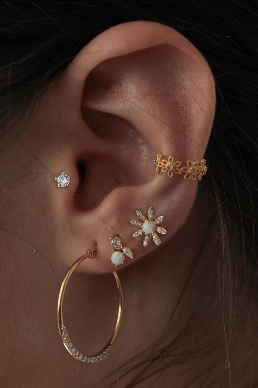 最近迷上的各式耳環