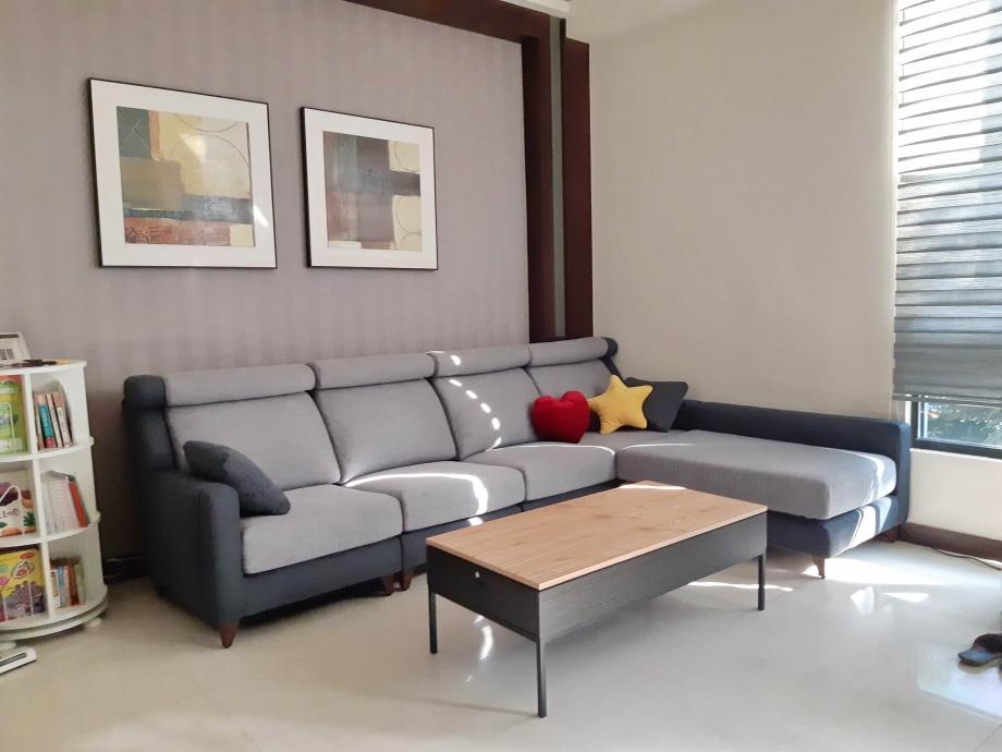 適合大家庭的L型溫馨大沙發