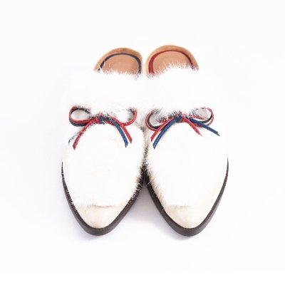 S&T STUDIO:Ruby 毛毛穆勒鞋