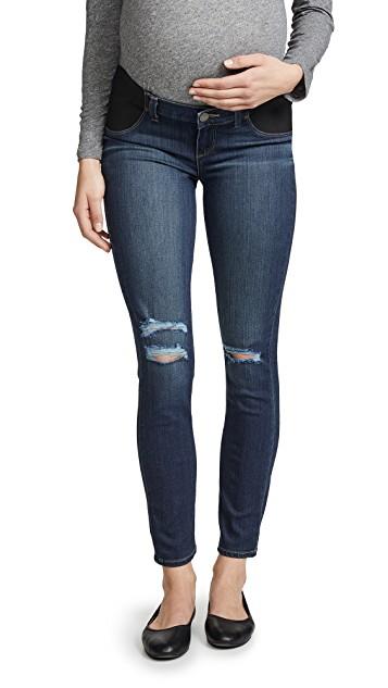 我買了三條超顯瘦孕婦牛仔褲:PAIGE
