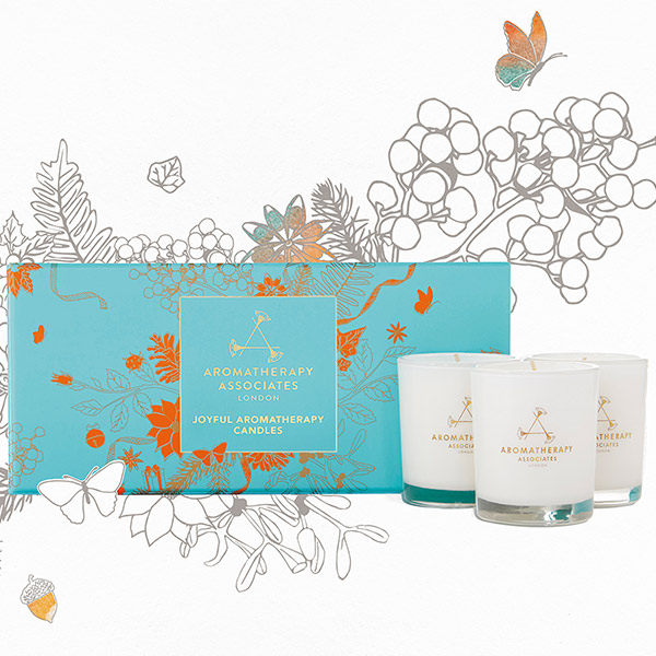 Aromatherapy Associates 歡愉香薰蠟燭禮盒
