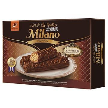 蜜蘭諾頂級系列:黑巧千層酥派