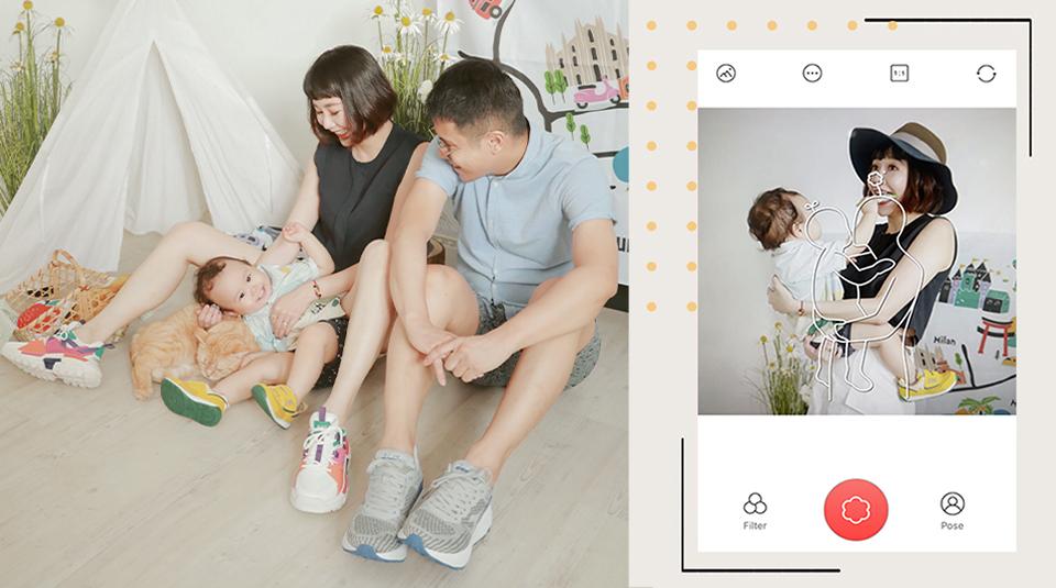 Easy Photo Tricks for Family photo poses