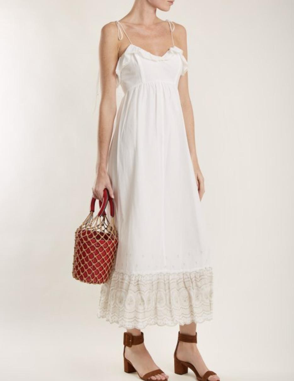 打三折中!適合星期天起床時穿上的白色洋裝