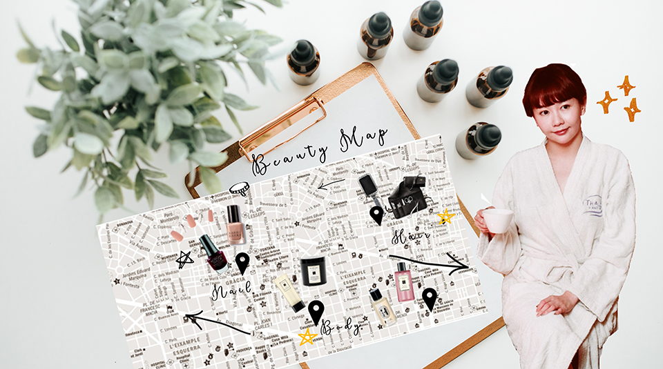 Discover my ultimate beauty map