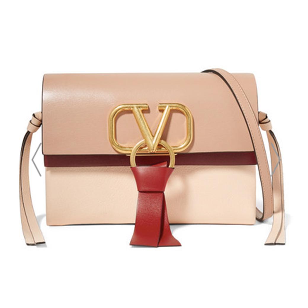 VALENTINO:V-Ring shoulder bag