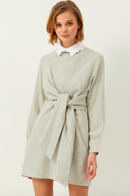 Vania Tie Waist Dress